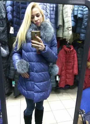 ... Акция! зимняя женская куртка пуховик chanevia 81701по супер цене xl2 ... f668d747e79