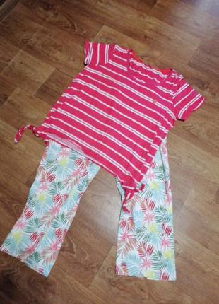 Женская пижама костюм для дома и сна