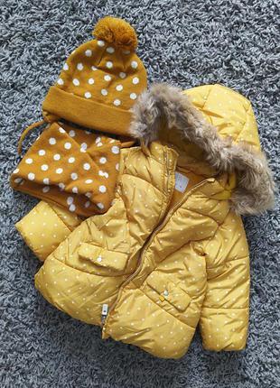 Куртка zara 18-24m