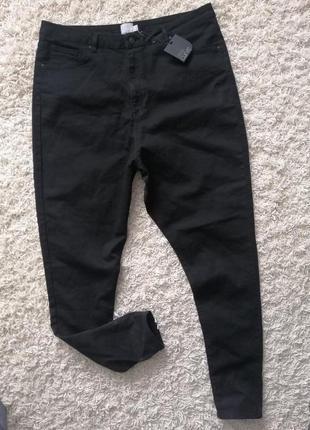 Новые шикарные женские джинсы с высокой посадкой asos 52