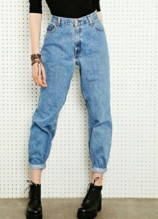 Крутые винтажные левайсы, moms jeans плотные прямые