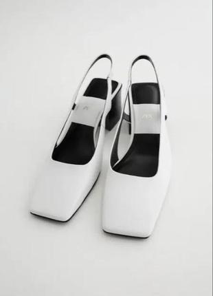 Нереальные кожаные туфли zara