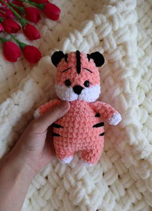 Тигрёнок амигуруми тигр подарок на новый год