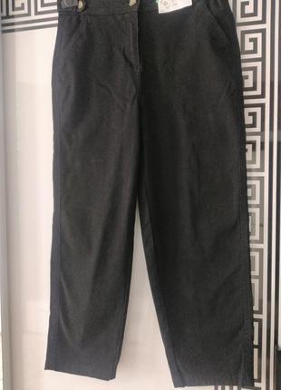 Штани чорного кольору розмір виробника 8,нові з біркою 👖