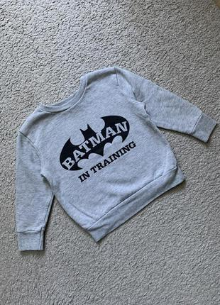 Кофта свитер флис batman