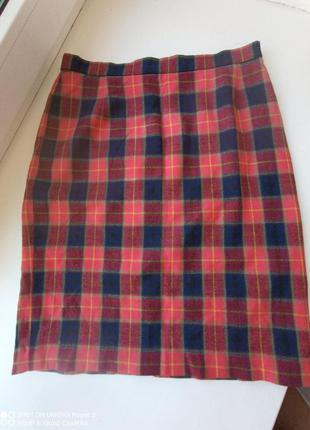 Escada margaretha ley шерстяная юбка