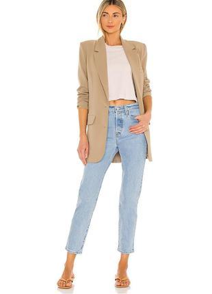Классные прямые джинсы levi's premium 501 високая посадка