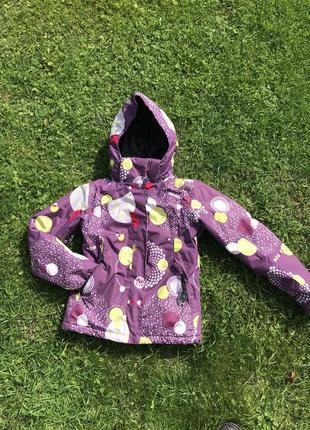 Термо куртка для дівчинки