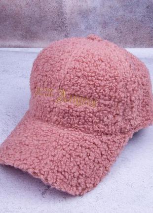 Бейсболка теплая, кепка женская теплая
