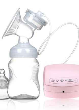 Молокоотсос электрический бутылочка и соска в комплекте