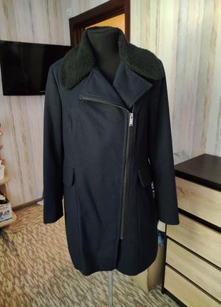 Стильное пальто косуха 52-54 размер