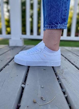 Adidas samba кроссовки белве кожаные