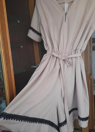 Платье-комбенизон