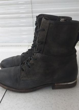 Кожаные ботинки a.s. 98