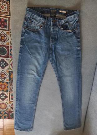 Высокие джинсы five pockets