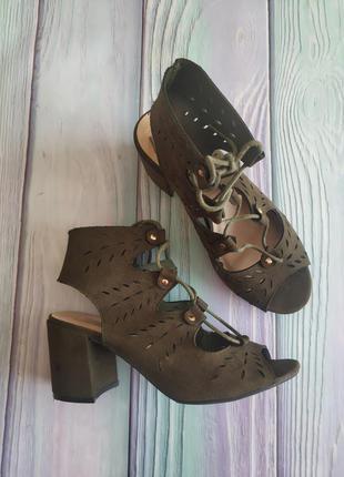 Туфли босоножки primark