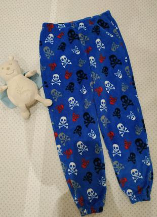 Штаны для дома, пижамные штаны  скелетики на рост 140-146 см chill out