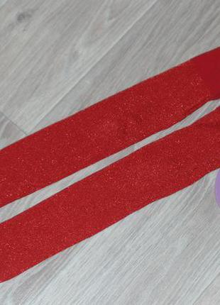 Нарядные колготы с люрексом  примарк 6-8л