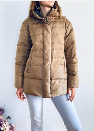 Теплий короткий легкий пуховик куртка