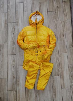 Яркий пуховый горнолыжный костюм jet set оригинал, швейцария