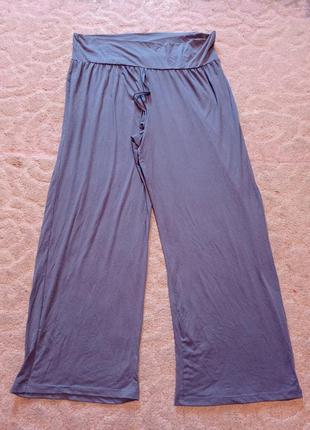 Широкие спортивные штаны брюки большого размера на шикарные формы