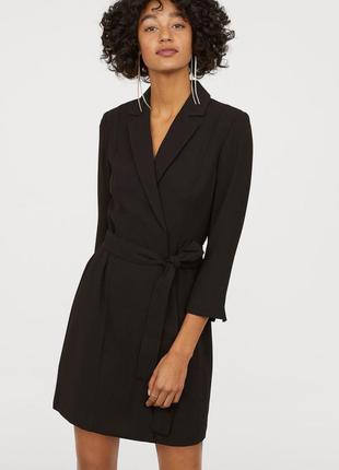 Двубортное платье пиджак с новой коллекции h&m