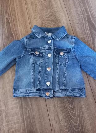Джинсовка джинсовая куртка для девочки