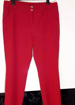 Шикарные классические красные  брюки🤩