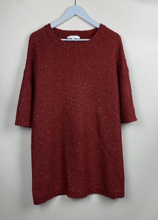 Тёплое платье туника sandro paris