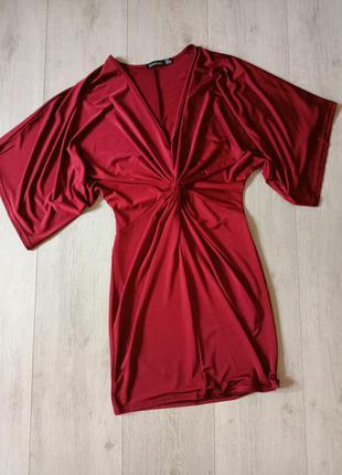 Платье, сукня, платье с узлом, платье масло