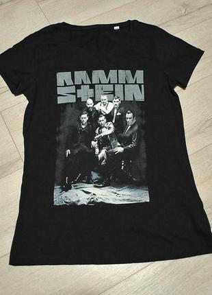 Жіноча футболка мерч rammstein - s-m