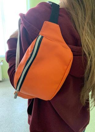 Распродажа /sale/скидка новая сумка через плече,  бананка  для подростка