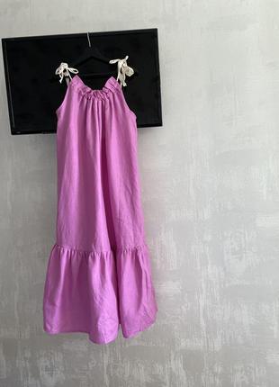 Платье 100% лен 💕