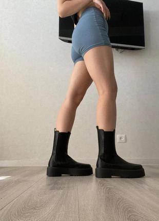 Новые высокие ботинки челси 39 размер