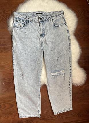Сток как новые стильные джинсы mom plus size uk 18 george
