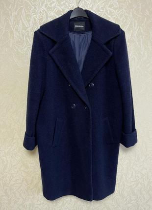 Шикарное двубортное полушерстяное пальто uk18