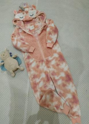 Кигуруми, пижама единорог next на рост 128 см