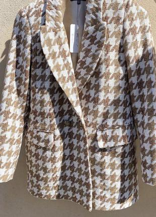 Пиджак твидовый на осень