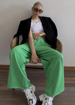 Широкие спортивные штаны h&m