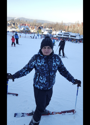 Лыжный костюм adidas (оригинал) очень тёплый!!!