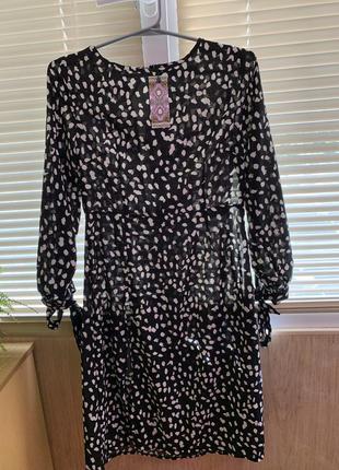Новое платье в пятна