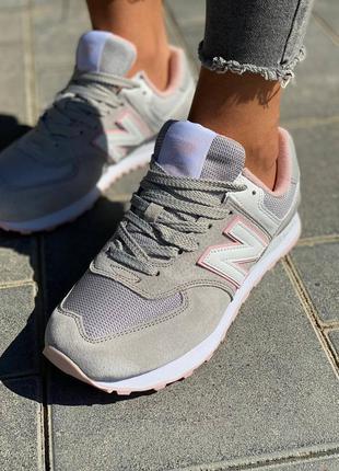 Кроссовки new беленс, женская обувь, кроссовки серый