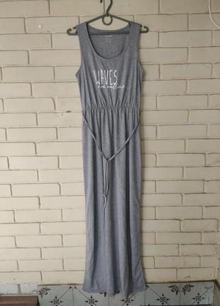 Длинное платье сарафан размер s 36-38