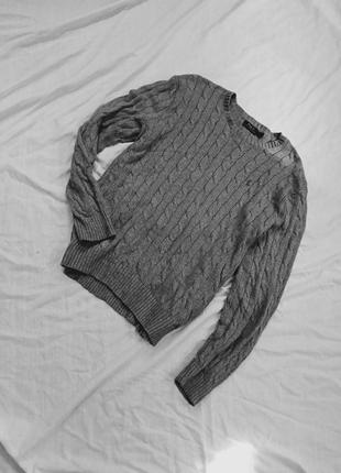 Удлиненный свитер оверсайз унисекс