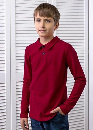 Джемпер для хлопчиків поло, червоний