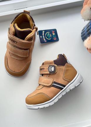 Демі хайтопи черевики с.луч на флісі деми ботинки