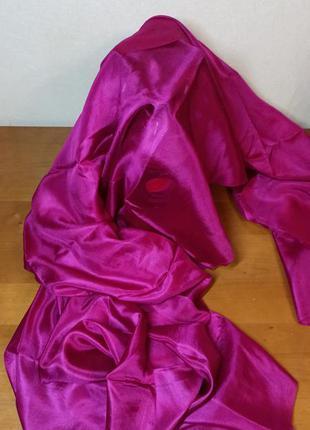 Шаль шарф отрез ткани из натурального шелка