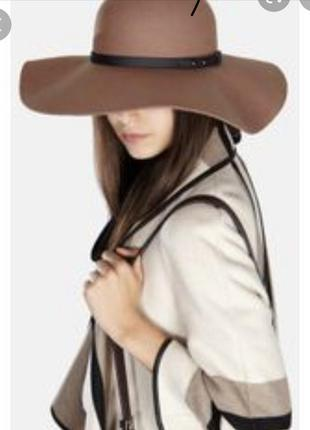 Шляпа karen millen широкополая