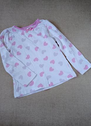 Реглан пижама футболка gerge 3-4 года 98 104