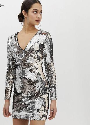 Неймовірно сяюче плаття від asos parisian.